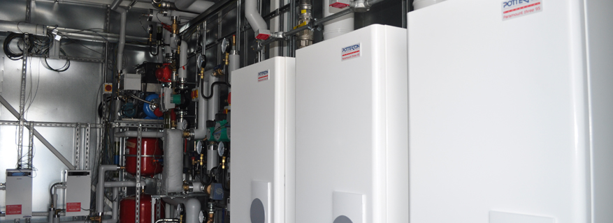 St Annes College Packaged Boiler Room